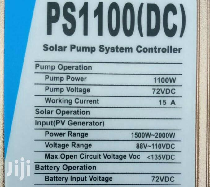 Brand New 72VDC,1100w Solar Submersible Pump. | Solar Energy for sale in Imara Daima, Nairobi, Kenya