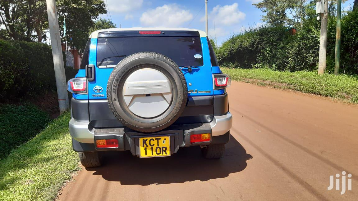 Archive: Toyota FJ Cruiser 2011 4x4 Automatic Blue