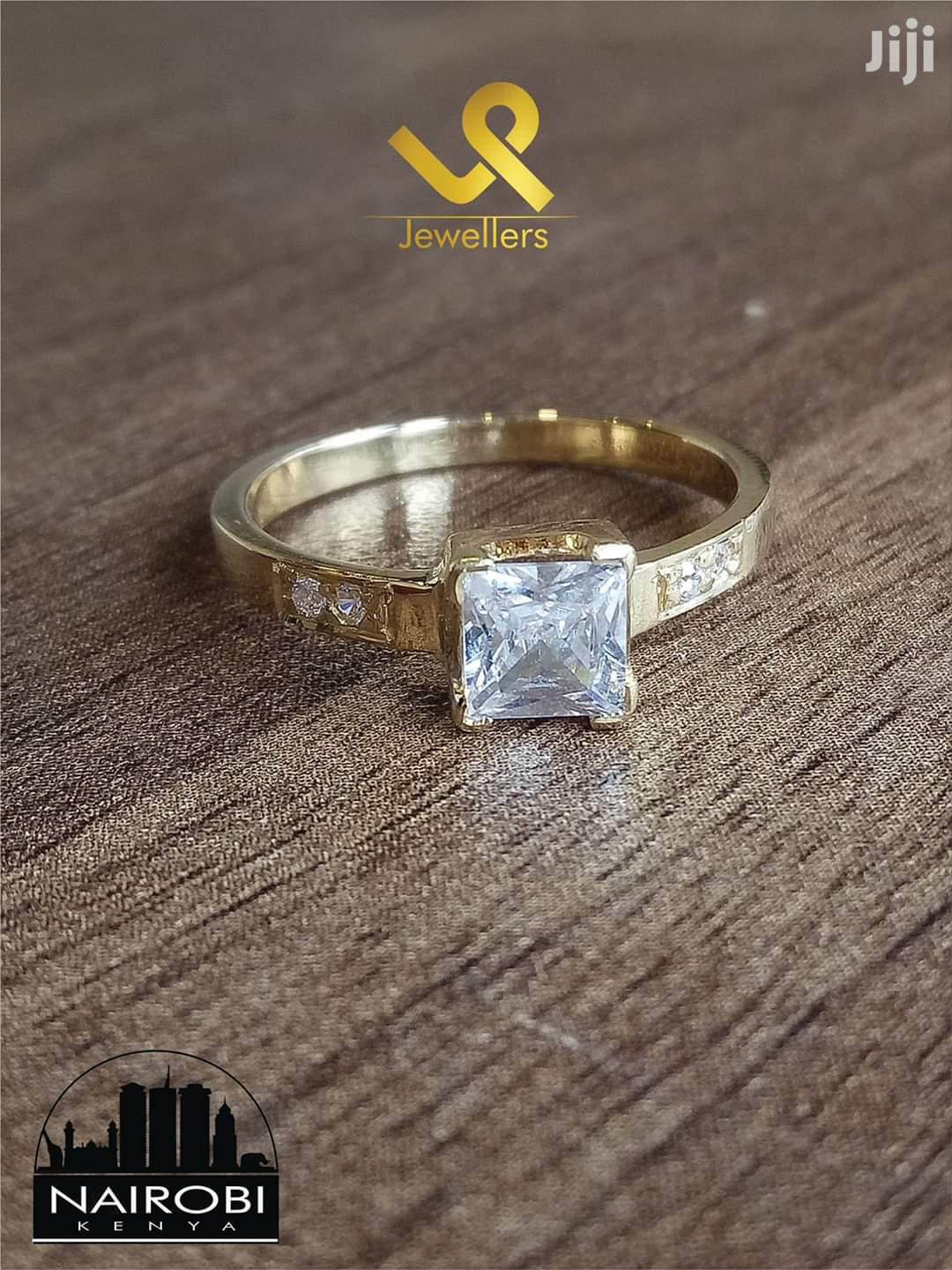 Ladies Custom Hand Crafted Yellow Gold Engagement Ring   Wedding Wear & Accessories for sale in Nairobi Central, Nairobi, Kenya