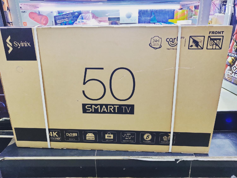 Syinix 50 Inch Smart 4K Tv