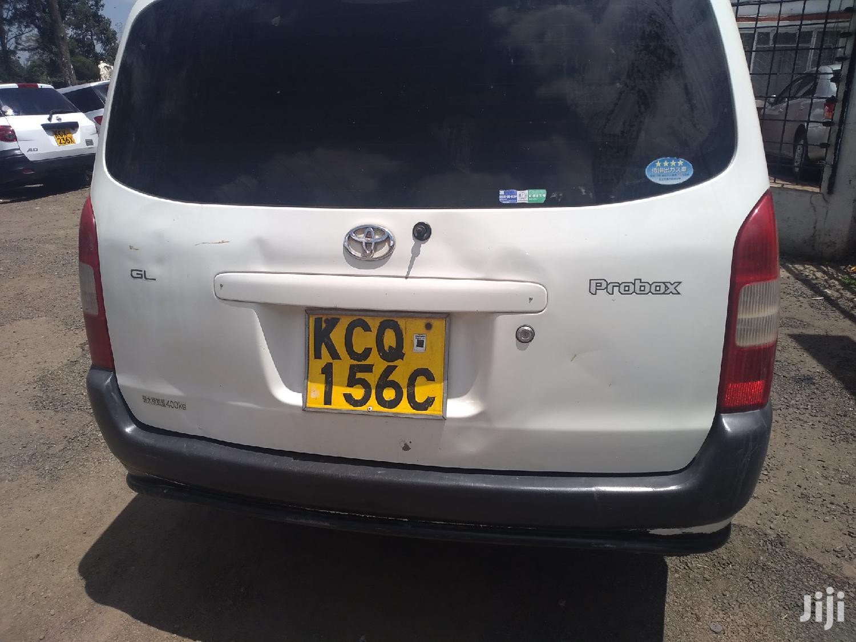 Archive: Toyota Probox 2011 White