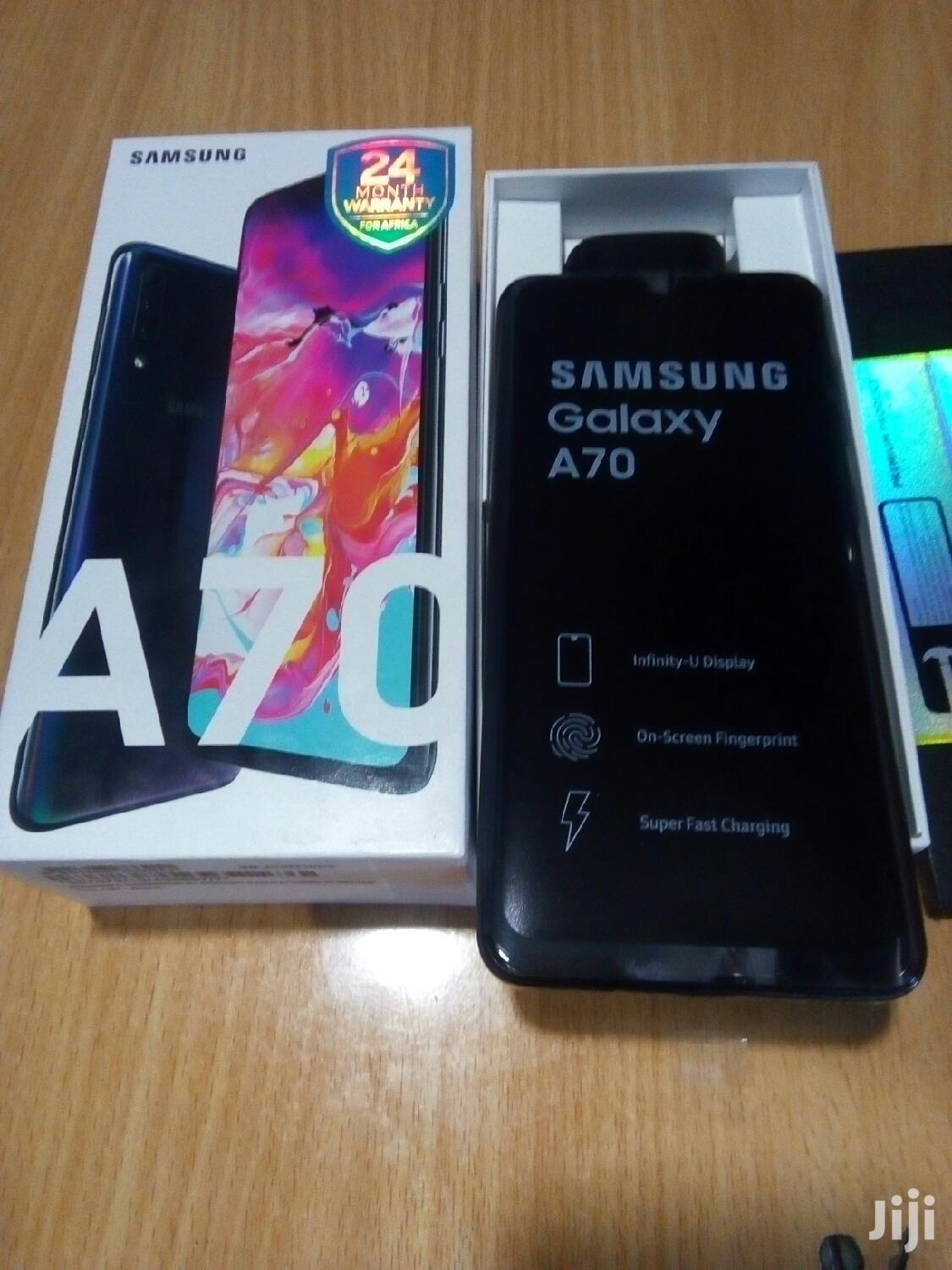 New Samsung Galaxy A70 128 GB Black | Mobile Phones for sale in Nairobi Central, Nairobi, Kenya