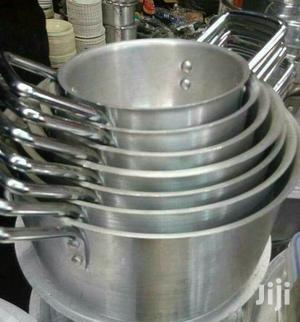 7pcs Alluminum Sufuria