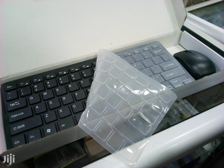 Mini Wireless Keyboard and Mouse
