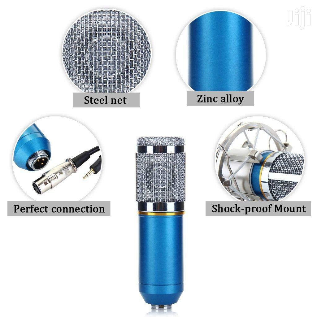 BM-800 Condenser Studio Recording Broadcasting Microphone | Audio & Music Equipment for sale in Nairobi Central, Nairobi, Kenya