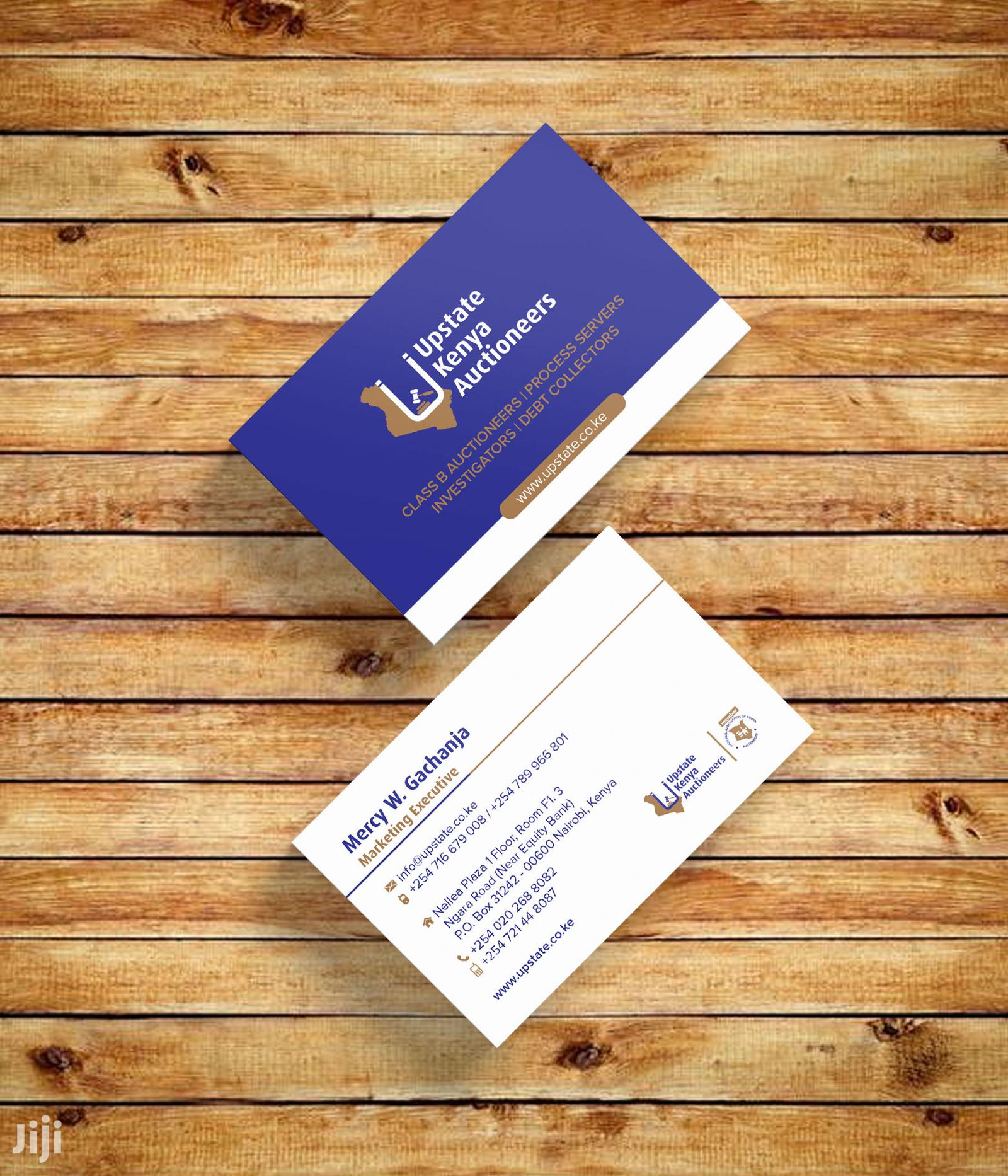 Quality Business Cards In Nairobi