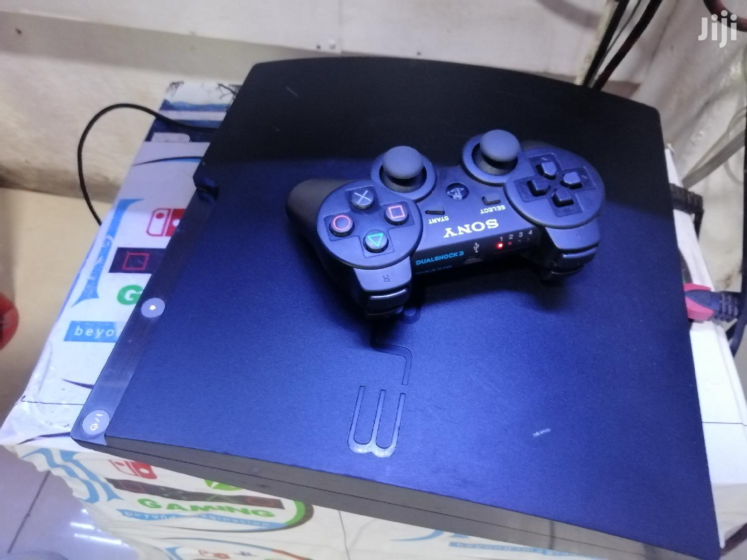 Ps3 Chipped With 10 Games
