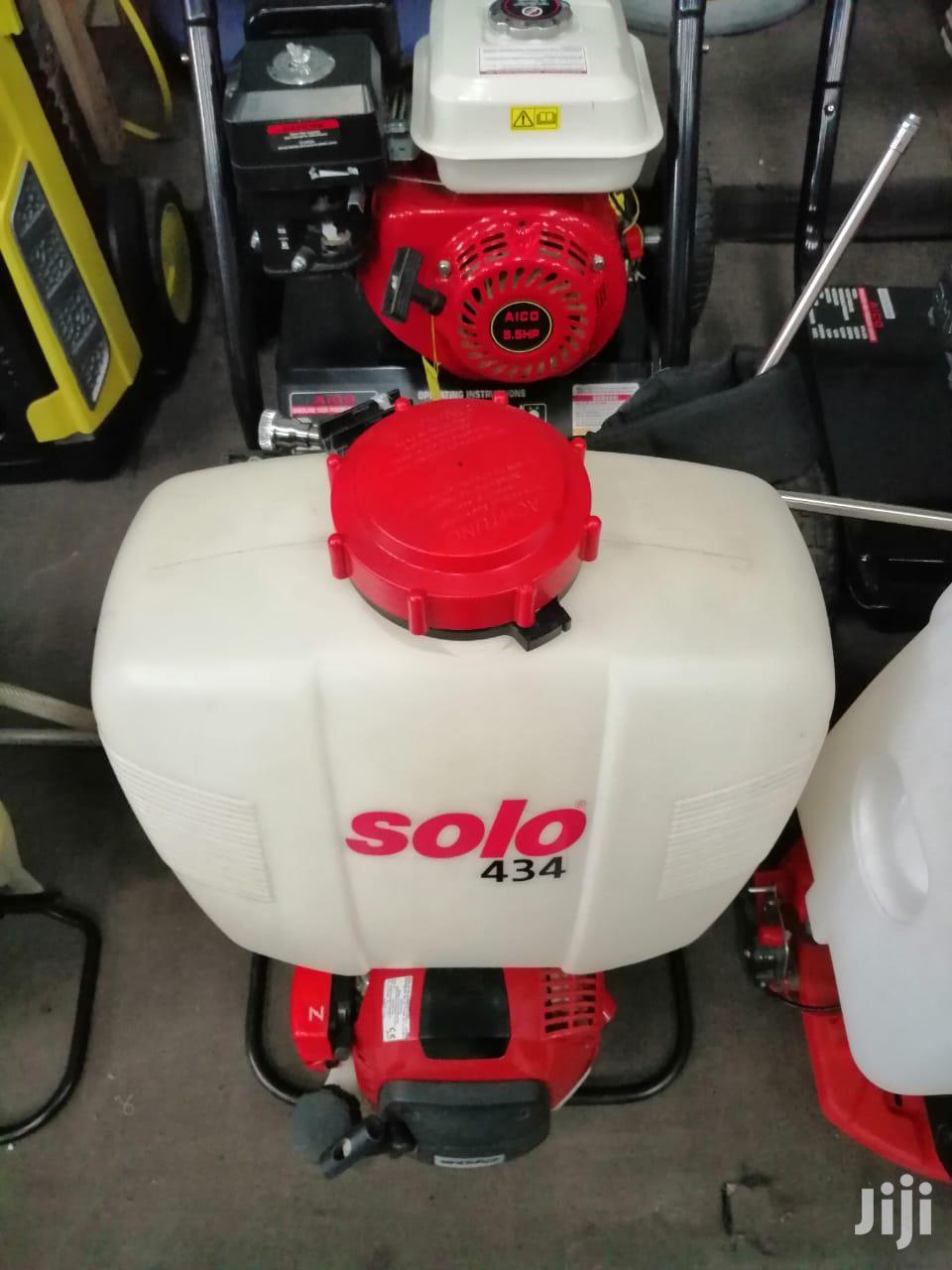 Brand New SOLO Brand Engine Sprayer.