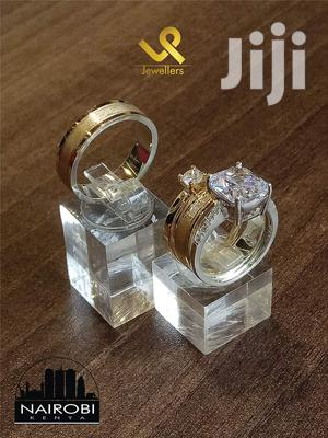 Custom Made 14k Gold And Silver Fusion Wedding Ring Bands   Wedding Wear & Accessories for sale in Nairobi, Nairobi Central