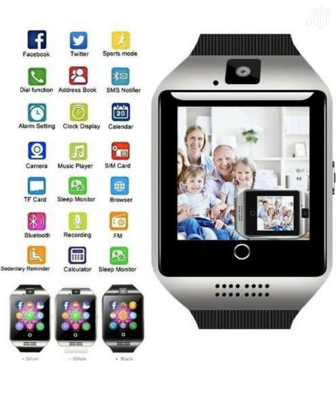 ZZYD Q18 Bluetooth Smart Watch For Android Phones With Camera Support
