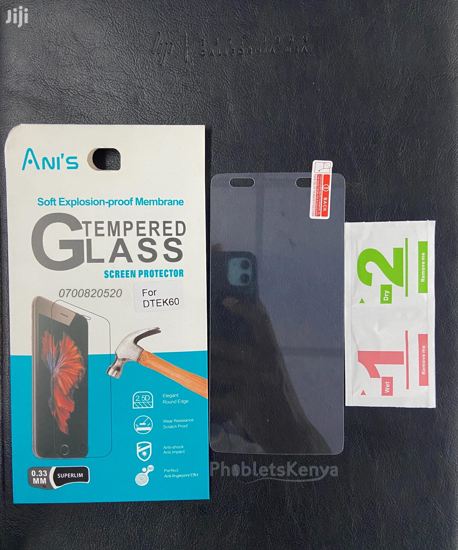 Blackberry DTEK60 Tempered Glass Clear Screen Guard