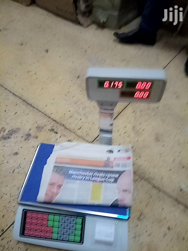 Weighing Scale With Receipt