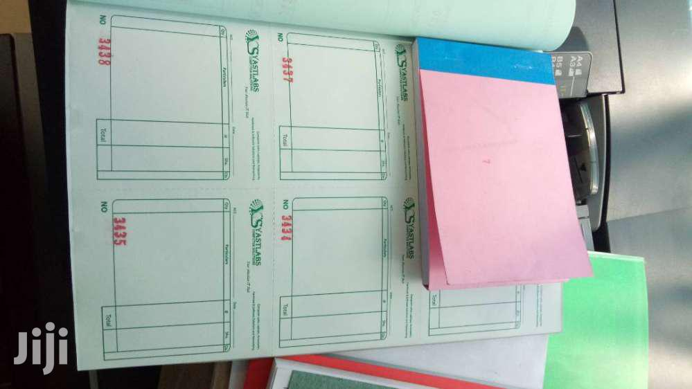 Receipts, Invoice, Delivery Books | Stationery for sale in Nairobi Central, Nairobi, Kenya