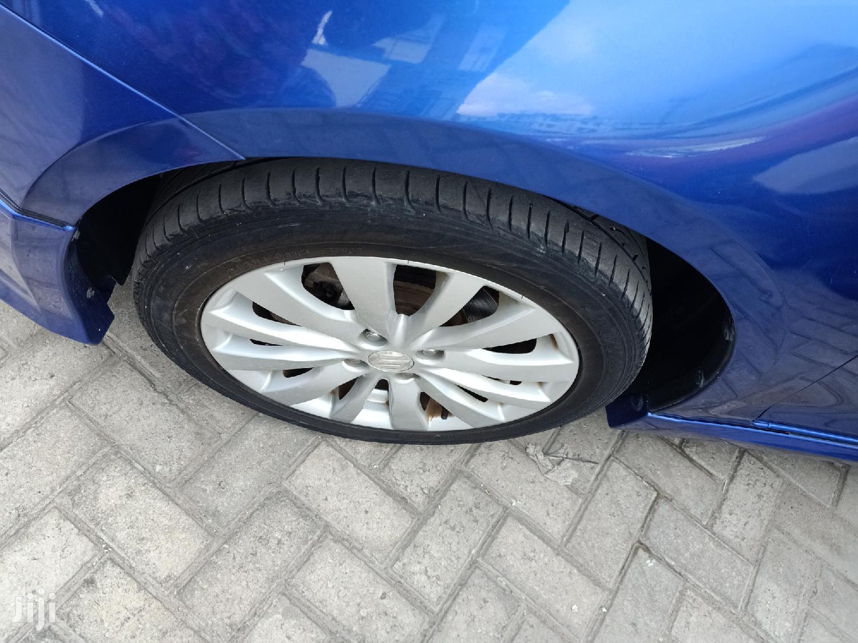 Suzuki Swift 2012 1.4 Blue   Cars for sale in Moi Avenue, Mombasa, Kenya