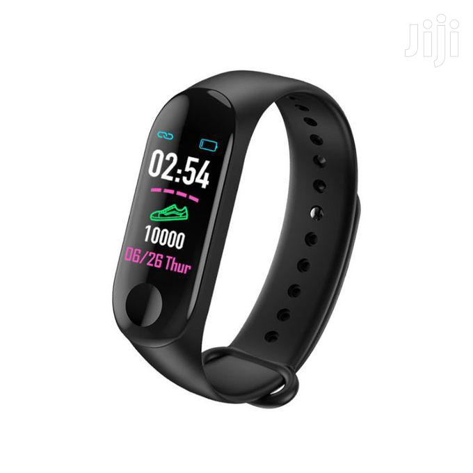 M3 Smart Watch Heart Rate Monitor Fitness Tracker Color Screen