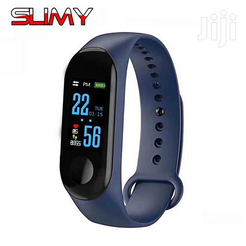 M3 Smart Watch Heart Rate Monitor Fitness Tracker Color Screen | Smart Watches & Trackers for sale in Nairobi Central, Nairobi, Kenya