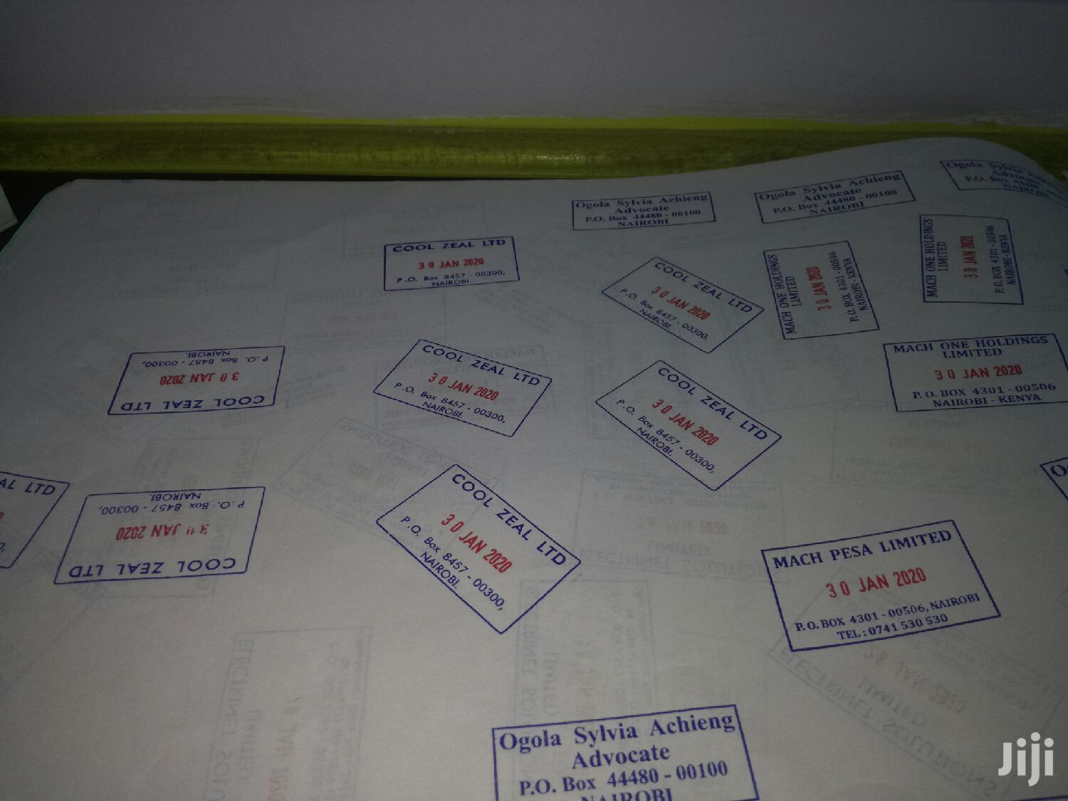 Rubber Stamps And Company Seals