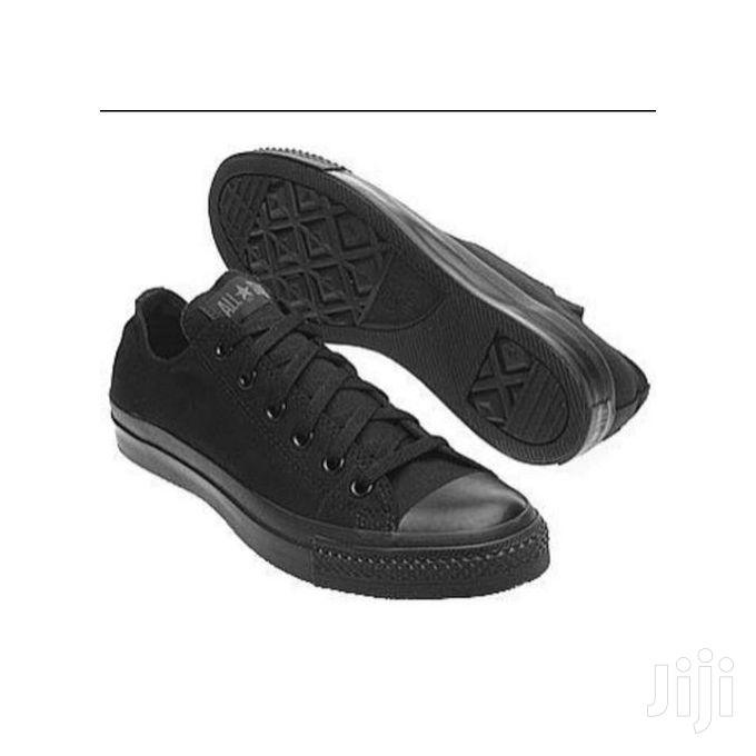 Converse Allstar Black New Rubber Shoe