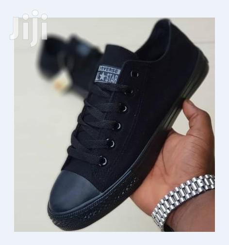 Converse Allstar Black New Rubber Shoe | Shoes for sale in Ngara, Nairobi, Kenya