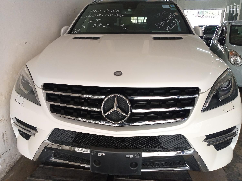 Mercedes-Benz M Class 2014 White   Cars for sale in Mvita, Mombasa, Kenya