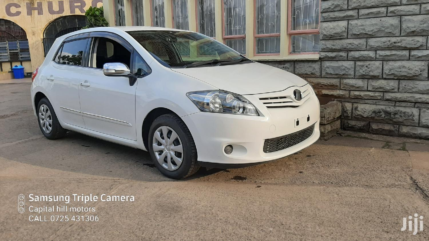 Archive: Toyota Auris 2012 White