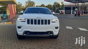 Jeep Grand Cherokee Overland 4x4 2013 White