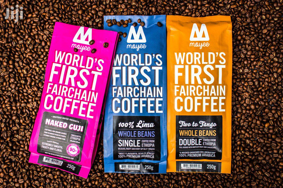 Archive: The Wold's First Fairchain Coffee