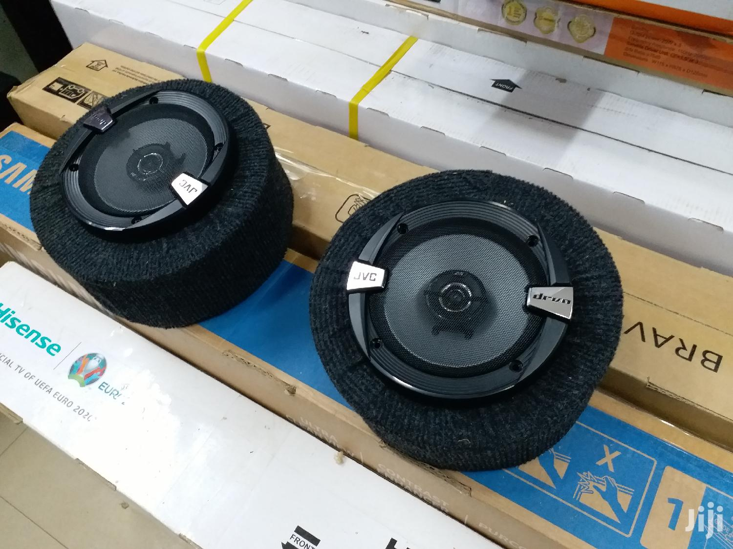 300watts JVC 6 Inches Midrange Speakers In Round Cabinets New In Shop