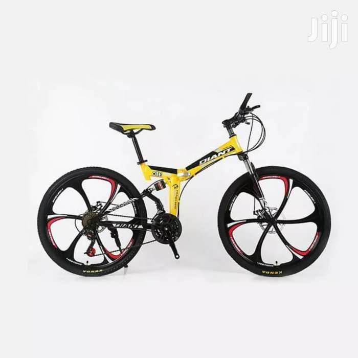 Chrome Wheels Foldable Bikes | Sports Equipment for sale in Nairobi Central, Nairobi, Kenya