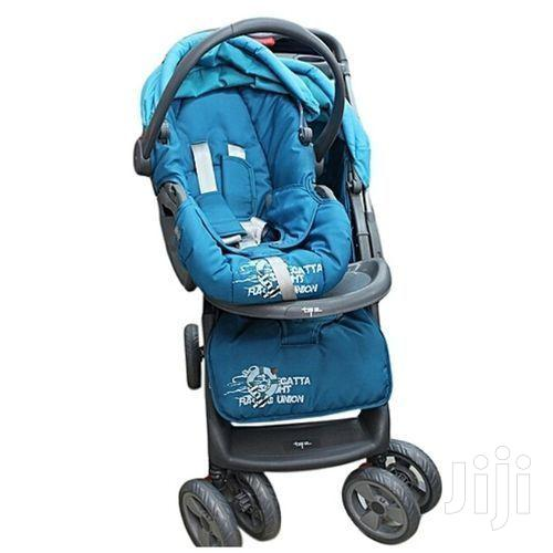 Superior 3 In 1 Baby Stroller Set - Blue | Prams & Strollers for sale in Westlands, Nairobi, Kenya