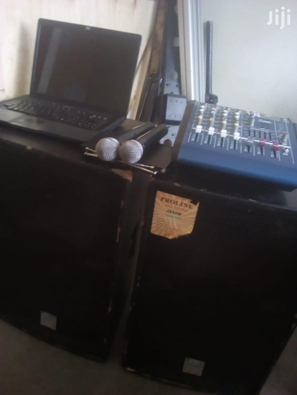 PA/Sound System For Hire