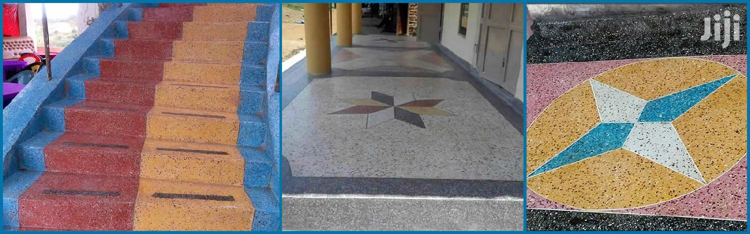 Terrazzo Materials And Fitting