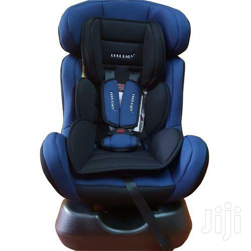 Reclining Infant Car Seat & Booster With A Base- Blue/Black (0-7yrs)