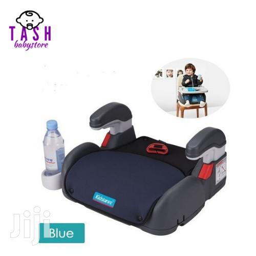 Car Seat Booster/Chair Cushion Pad For Toddler And Kids Sturdy- Blue