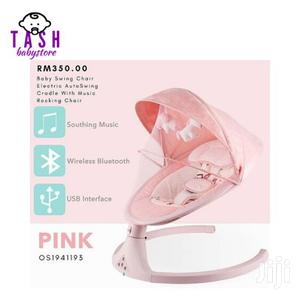 Electric Baby Swing Cot Automatic Baby Cradle Swing - PINK | Children's Gear & Safety for sale in Nairobi, Westlands