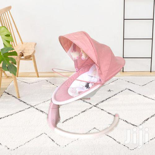 Electric Baby Swing Cot Automatic Baby Cradle Swing - PINK | Children's Gear & Safety for sale in Westlands, Nairobi, Kenya