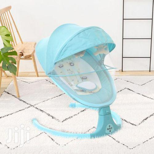 Electric Baby Swing Cot Swing Baby Cradle Automatic Swing Crib   Children's Gear & Safety for sale in Westlands, Nairobi, Kenya