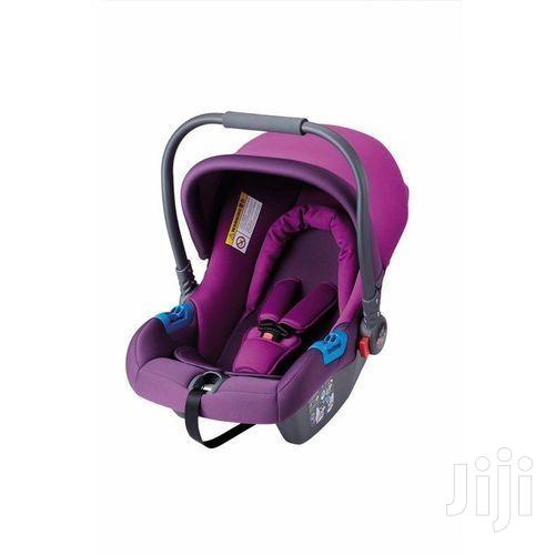 Superior Infant Baby Car Seat/ Carry Cot (0-12months) - Purple | Children's Gear & Safety for sale in Westlands, Nairobi, Kenya