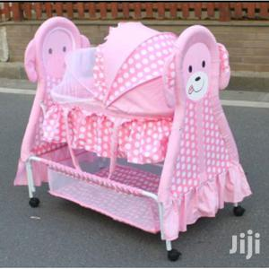 Rocking Baby Crib Baby Bed Baby Cradle Swing Cot With Mosquito Net | Children's Gear & Safety for sale in Nairobi, Westlands