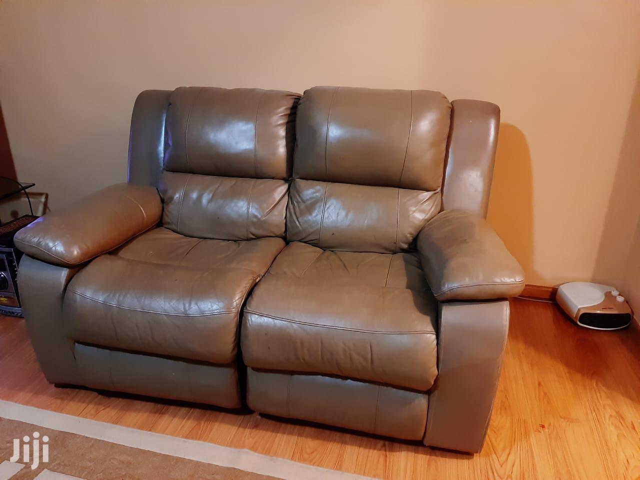 7 Seater Recliner Leather Sofas