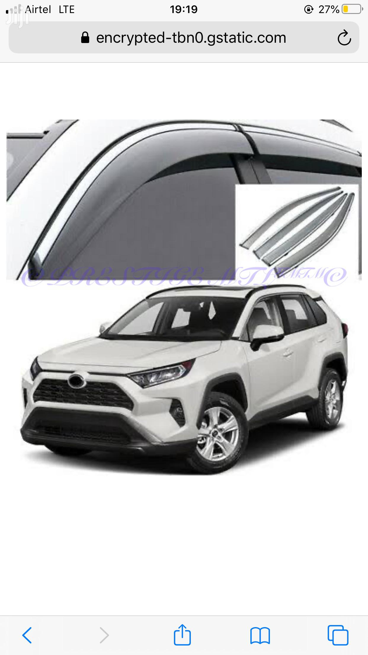 Windbreakers /Window Deflectors for ALL CARS Available From | Vehicle Parts & Accessories for sale in Nairobi Central, Nairobi, Kenya