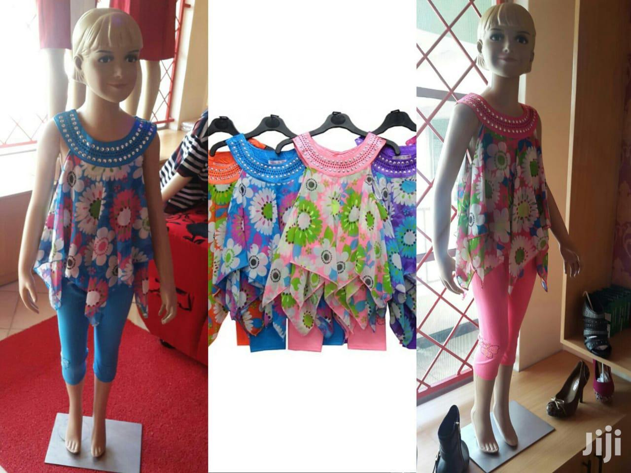 Archive: Girls Leggings & Dress Set From UK