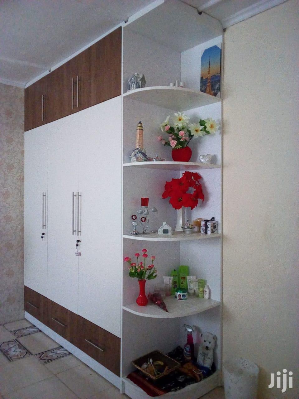 Wardrobes Design Wth Corner Shelves | Manufacturing Services for sale in Jomvu, Mombasa, Kenya