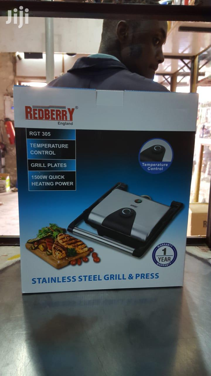Stainless Steel Grill And Press/ Electric Grill/ Double Grill