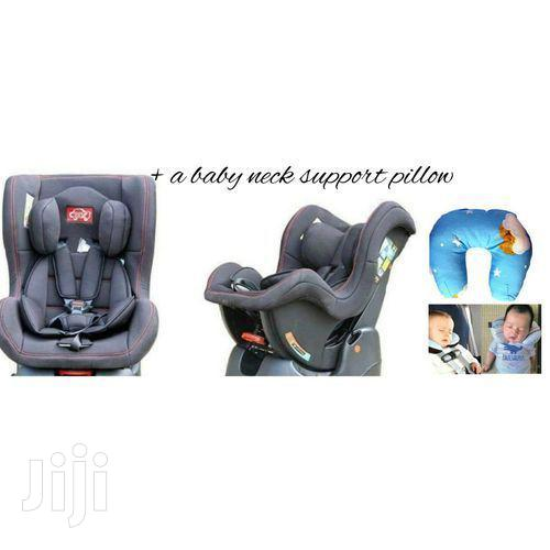 Reclining Baby Car Seat(0-5yrs) + An Assorted Baby Neck Support Pillow