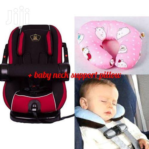 Infant Baby Car Seat- ( 0- 36 Months)+ Baby Neck Support Pillow