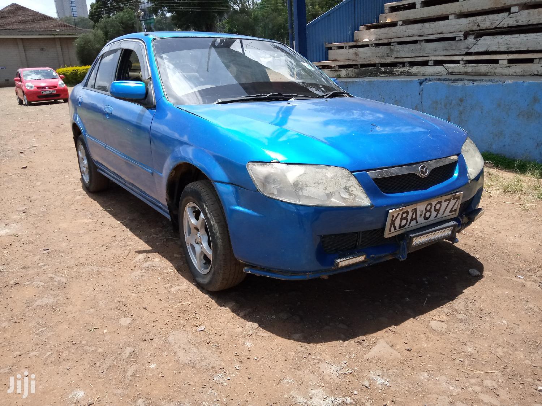 Mazda Familia 2000 Blue