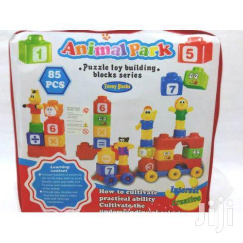 85PCS Building Blocks (Animal Park ) - Multicolor Kids Play Toys   Toys for sale in Westlands, Nairobi, Kenya
