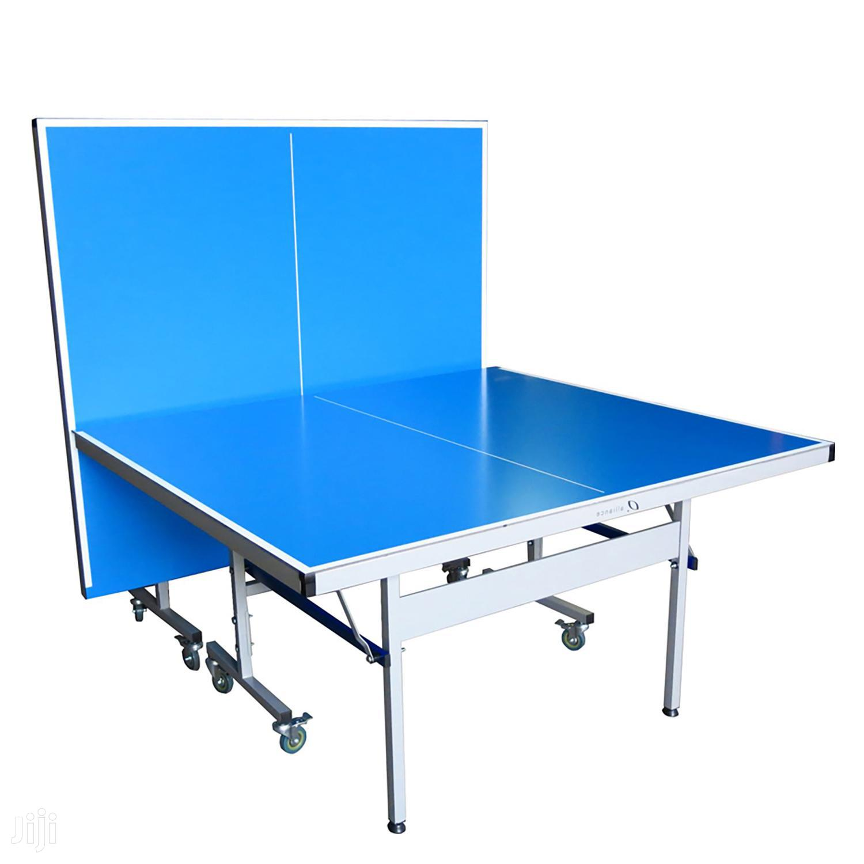Double Folding Tennis Tables