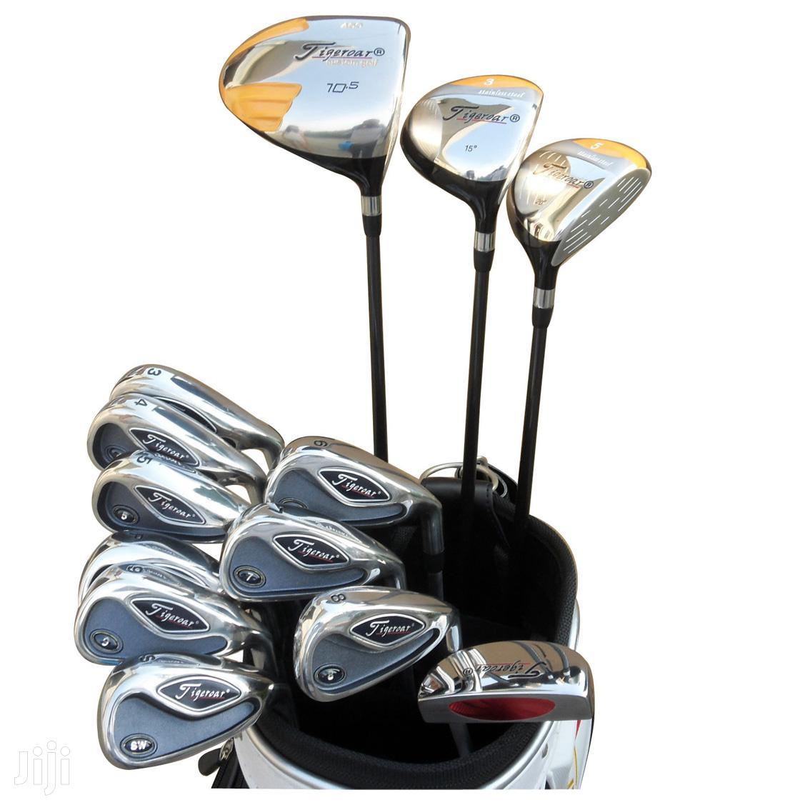Mens Golf Club Set Tigeroar